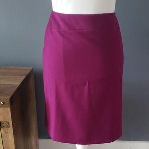 Antonio Melani Fushia Pencil Skirt